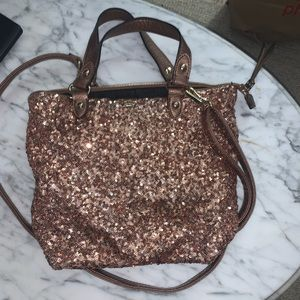 Juicy Couture Brown Sequin Purse